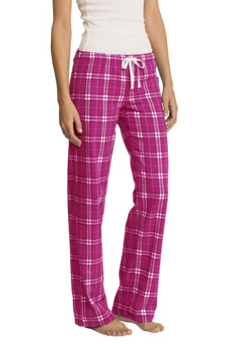 ors Flannel Plaid Pant, Dark Fuchsia XS (Dark Plaid Flannel Pants)