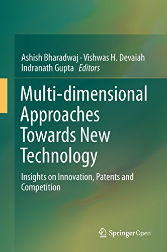 Multi-dimensional Approaches Towards New Technology: Insights on Innovation, Patents and Competition