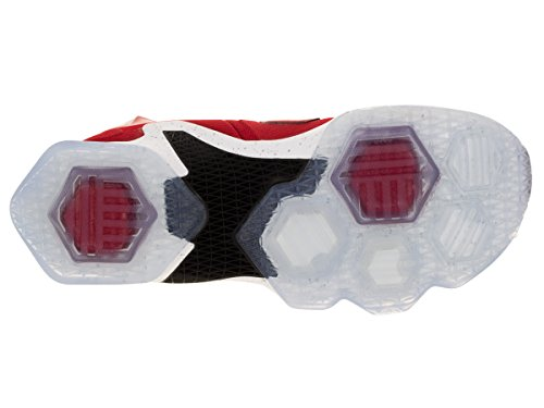 schwarz lsr Nike Basketballschuhe Xiii Orng Orange Schwarz Weiß Herren Unvrsty Rot Lebron Weiß Talla Rot Owg7Oqr