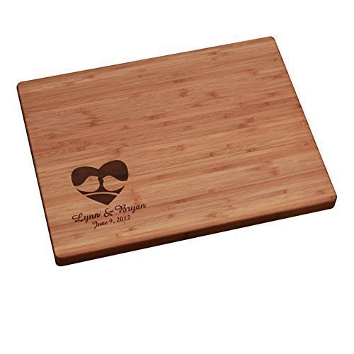 Personalized Cutting Board - Love Birds Corner