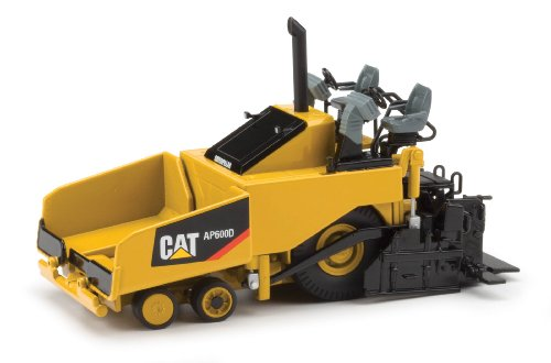 Norscot Cat AP600D Asphalt Paver (1:50 Scale), Caterpillar Yellow ()