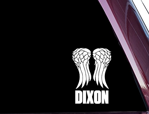 Daryl Dixon Wings - High Quality Precision-Cut Vinyl Decal / Sticker (NOT PRINTED) -
