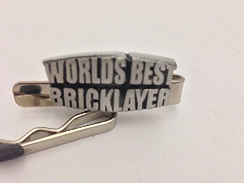 Worlds Best Brique Couche refd11emblème en étain anglais sur un clip de 4cm de long par SB