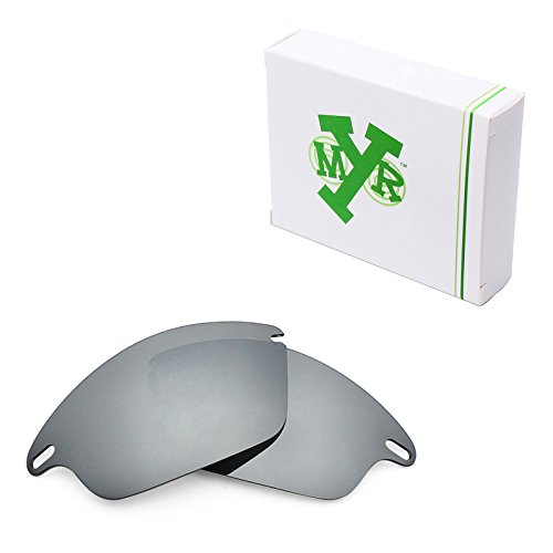 Mryok Polarized Replacement Lenses for Oakley Fast Jacket - Silver - Oakley Polarized Fast Lenses Jacket