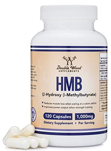 HMB Supplement, Third Party Tested, for Muscle Recovery, Growth, and Retention (Protein Synthesis) - Made in USA, 120 Capsules, 1000mg Per Serving (Beta Hydroxy Beta Methylbutyrate Hmb Side Effects)