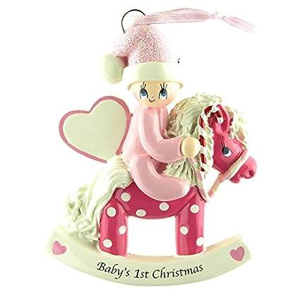 Personalized árbol de Navidad decoración adornos bebé 1st ...