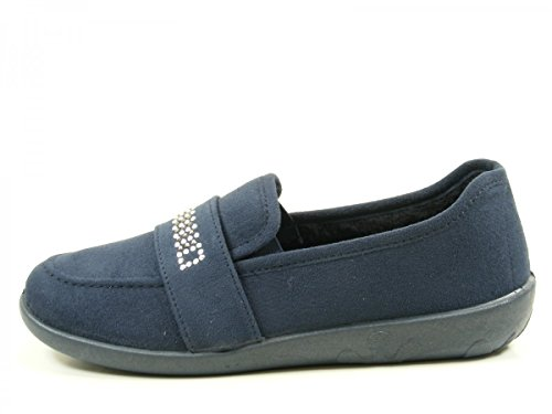 Rohde Ballerup 2228 Zapatillas de casa para mujer Blau