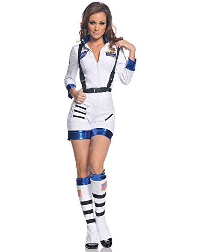 Underwraps Women's Rocket, White/Blue, Medium ()