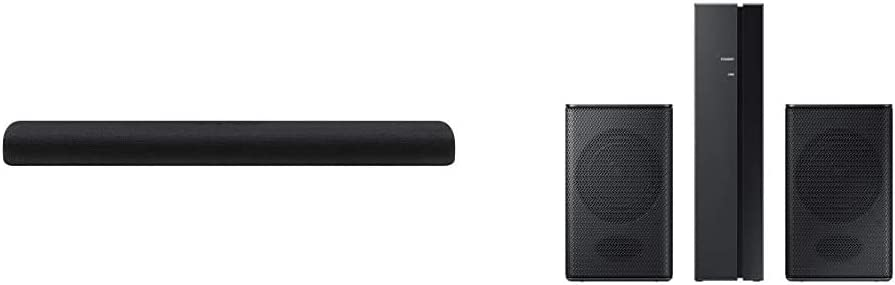 Samsung HW-S60T Samsung Acoustic Beam S Series Soundbar with Samsung 54 W RMS SWA-8500S 2.0 Speaker System Wall Mountable Black Model SWA-8500S/ZA