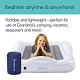 hiccapop Inflatable Toddler Travel Bed with Safety