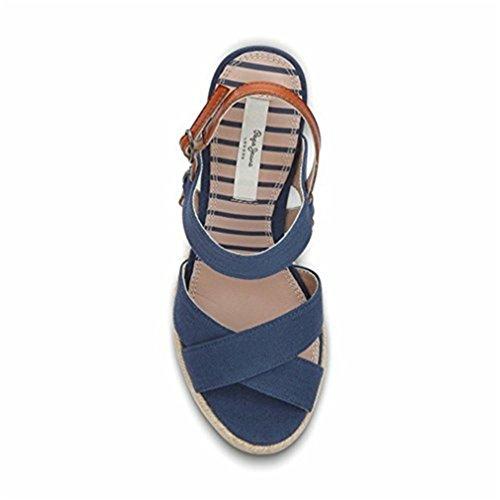 Pepe Blu Basse Navy Donna Espadrillas Jeans pa4xqrpO