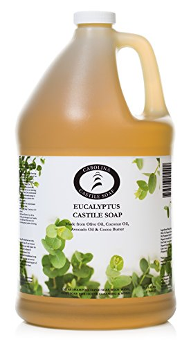 Carolina Castile Soap Eucalyptus Certified Organic – 1 Gallon