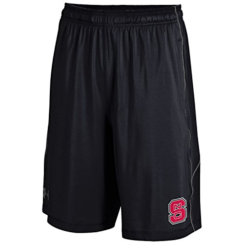 NCAA North Carolina State Wolfpack Men's Raid Shorts, Black, X-Large