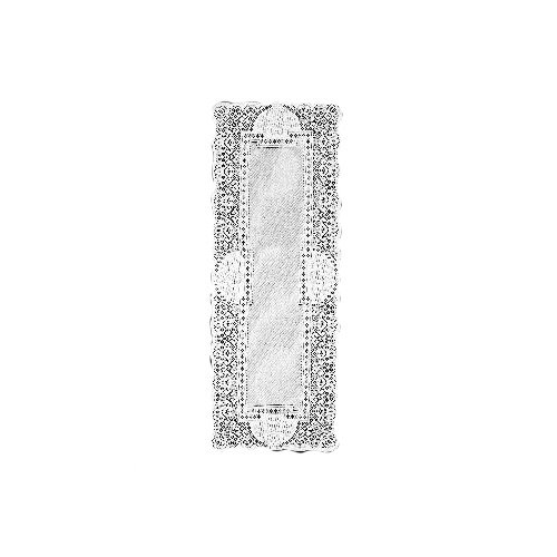 Heritage Lace Canterbury Classic 14-Inch by 36-Inch Runner,