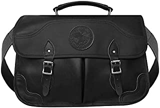 product image for Duluth Pack Leather Executive Briefcase (11 x 17 x 5-Inch, Black)
