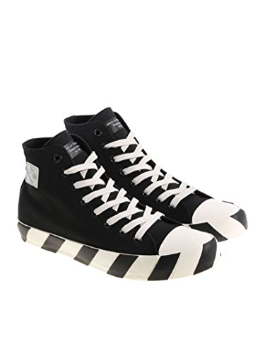 Off-Hvid Herre Omia072s183510161000 Sort Stoff Hi Top Sneakers xZO75u16Cv