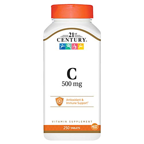 (21st Century C 500 mg Tablets, 250 Count)