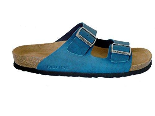 Rohde Herren Pantoletten Sandalen 5920 Mehrere Farben Blautöne