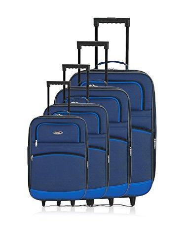 semirrígidos Azul Marino trolleys Challenger de 4 Set wBRARx