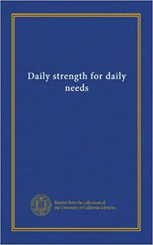 daily strengh