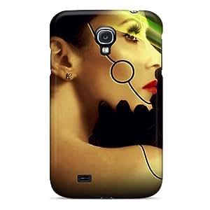 Premium Durable Robot Woman Fashion Tpu Galaxy S4 Protective Case Cover
