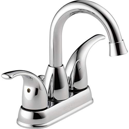 - Peerless P99694LF-ECO Tempo Chrome 2-Handle 4-in Centerset Bathroom Sink Faucet
