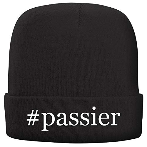 BH Cool Designs #Passier - Adult Hashtag Comfortable Fleece Lined Beanie, Black