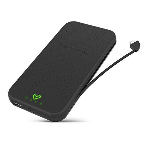 Energy Extra Battery 10000 Black (10000mAh, para Tablets y Smartphones, Carga rápida)