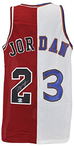 Bulls & Wizards Michael Jordan Authentic Signed Jersey Autographed BAS - Jersey Authentic Jordan Michael
