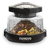 NuWave COMIN18JU009179 Pro Plus Oven, 16 x 15.5 x 12.3 inches, Black, Gold