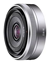 Sony Sel16f28 16mm F2.8 Wide-angle Lens For Nex Series Cameras