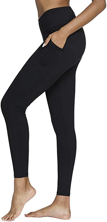 TALLA XS. SIMIYA - Mallas para mujer, cintura alta, súper suaves, cómodas, delgadas, ajustadas, para correr, yoga