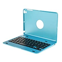 Aluminium Wireless Bluetooth Keyboard Case Cover Stand For iPad Mini 1 2 3 - Blue