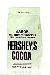 Hershey's Cocoa Powder, 5 pound, pack of 6