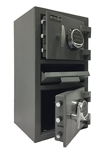 SOUTHEASTERN Double door money depository drop safe with UL listed digital lock by Southeastern Safe