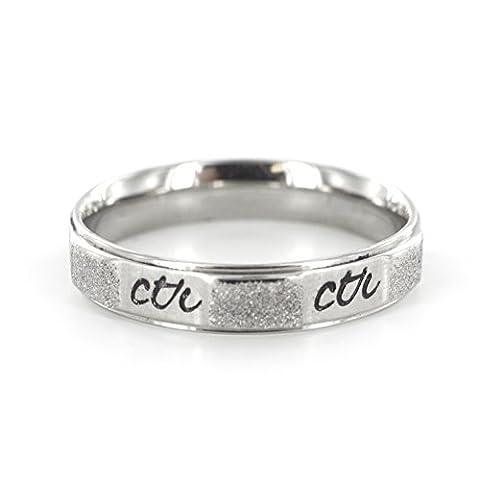 Sandy Beach CTR Ring (5) (Rose Gold Micro Mini Ctr Ring)