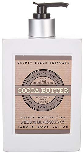 Delray Beach Skincare Hand & Body Lotion - Cocoa Butter