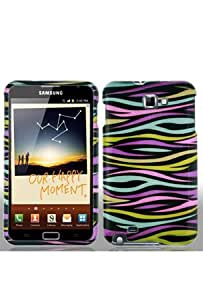 Samsung Galaxy Note (USA AT&T Version i717) Graphic Case - Rainbow Zebra (Package include a HandHelditems Sketch Stylus Pen)