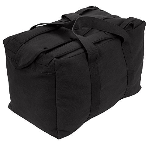 Rothco Canvas Mossad Type Tactical Cargo Bag, -