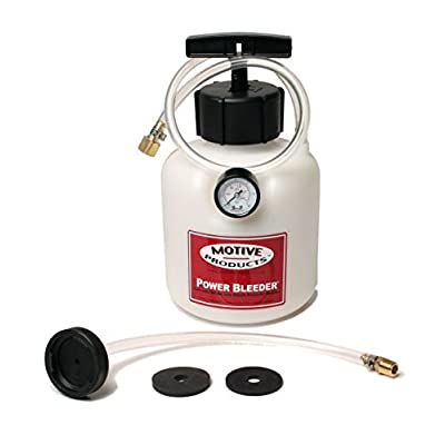 Motive Products 0108 Brake System Power Bleeder For Most Late Model GM Cars and Trucks: Automotive