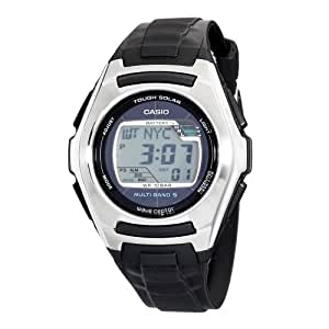 Casio Men's WVM120J-1 Solar Atomic Resin Strap Watch