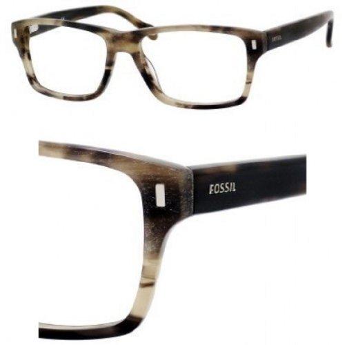FOSSIL Monture lunettes de vue STEPHEN 0JXH Corne brossée 54MM