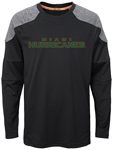 (NCAA by Outerstuff NCAA Miami Hurricanes Youth Boys