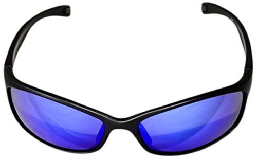 Ocean Waves Sunglasses Kauai Ocean Waves Kauai Sunglasses with Offshore Blue Lenses), Black, Offshore - Sunglasses 360