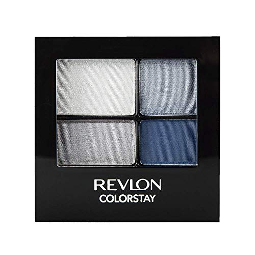 Revlon ColorStay 16 Hour Eye Shadow Quad, Passionate,0.16oz (Best Eyeshadow For Gray Eyes)