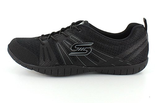 8 Womens Rev Up It Atomic Black Skechers Sneaker RgSq0wgx
