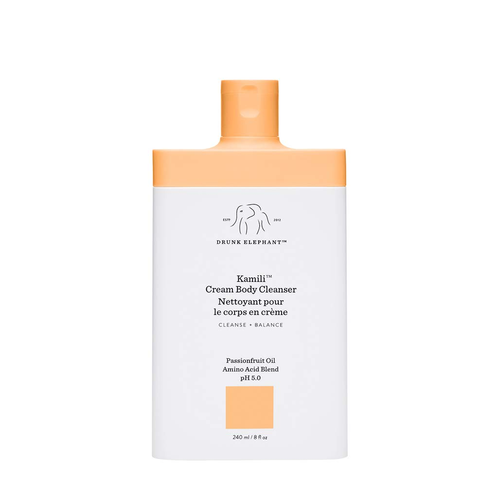 Drunk Elephant Kamili Cream Body Cleanser. Replenishing and Soothing Cream Body Cleanser. (8 fluid ounces) : Beauty