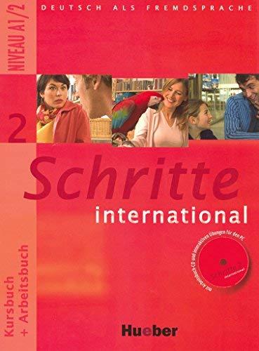 Schritte international 2 (Kursbuch + Arbeitsbuch mit Audio-CDs)