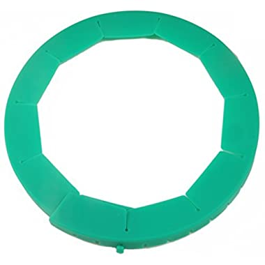 Silicone Pie Crust Shield, Adjustable Pie Protector, Green