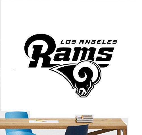 Poster Sports Logo (Los Angeles Rams Football Team Vinyl Decal Wall Sticker NFL Emblem Logo Sport Poster Home Interior Removable Decor 54)